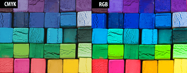 Разница rgb и cmyk