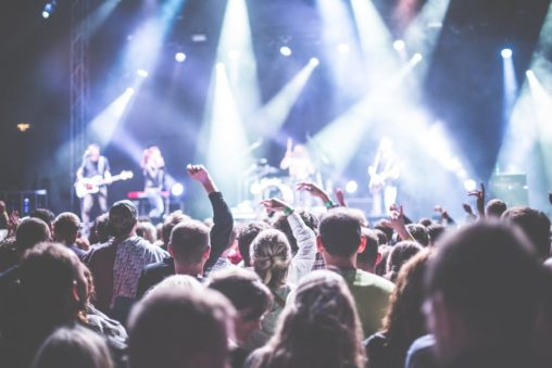 полиграфия для организатов концертов