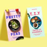 Вдохновение: дизайн печатных материалов в сфере общественного питания