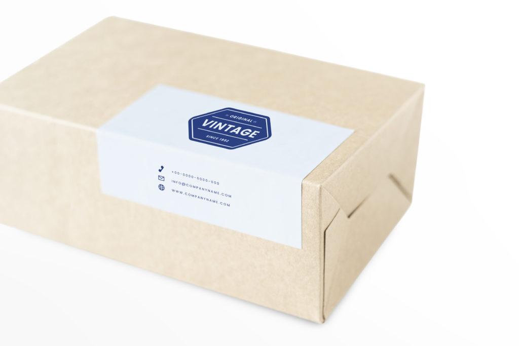Печать наклеек для упаковки